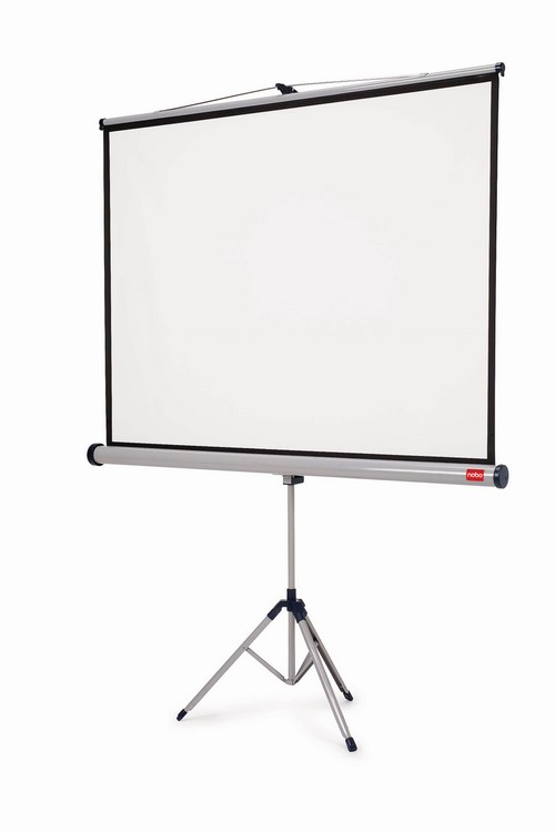 Ekran na trójnogu 150 x 100 cm