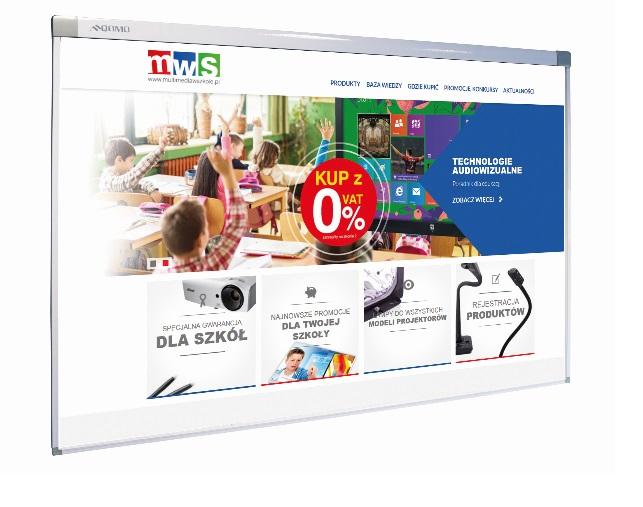 Tablica interaktywna QWB100OPF